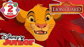 The Lion Guard I Do Have a Great Deal To Say Song 🎶 Disney Junior UK