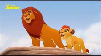 The Lion Guard The Path Of Honor (Norwegian)