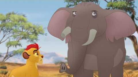 The Lion Guard return Chama, Mzaha and Furaha