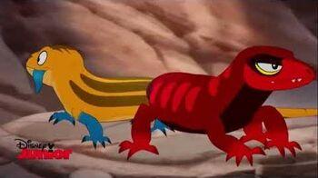 The Lion Guard- Fujo (Hebrew)