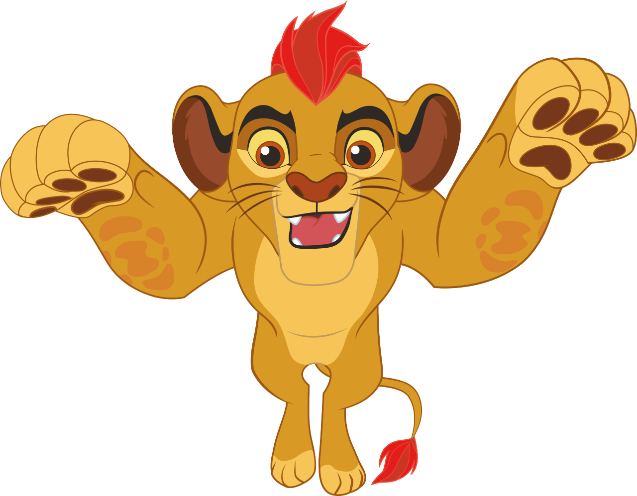 Amazing Kion Leap Transparent