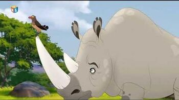 The Lion Guard - Tickibirds and Rhinos (Croatian)-0
