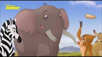 The Lion Guard The Traveling Baboon Show (Danish)