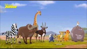 The Lion Guard The Traveling Baboon Show (Swedish)