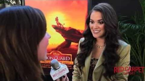 Madison Pettis, Voice of Zuri