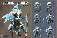 Ice fang concept