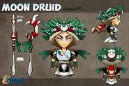 Druid Toon Concept
