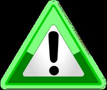 Warning Green