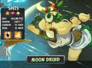The Moon Druid
