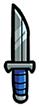 Dagger-silver
