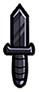 Dagger-black
