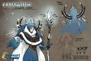 Frost witch concept