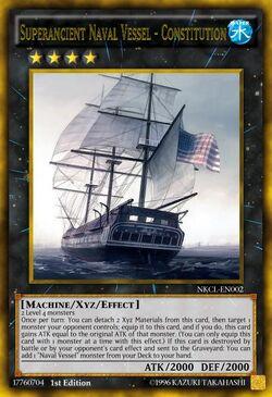 Superancient Naval Vessel - Constitution