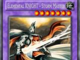 Elemental KNIGHT - Storm Master