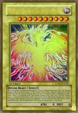 The Winged Dragon of Ra - Immortal Phoenix