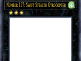 Number 127: Swift Stealth Gyrocopter