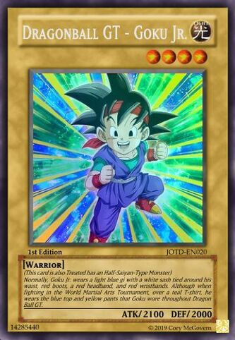 Dragonball GT - Goku Jr.