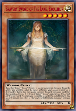 Bravery Sword of The Lake Excalibur