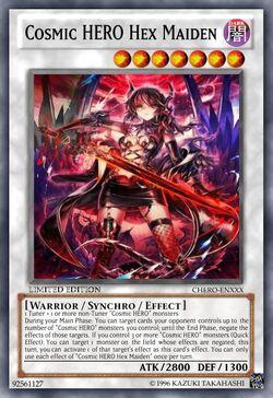 Cosmic HERO Hex Maiden