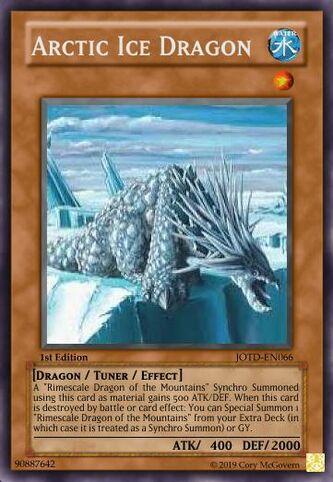 Arctic Ice Dragon