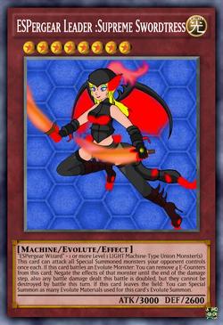 ESPergear Leader Supreme Swordtress