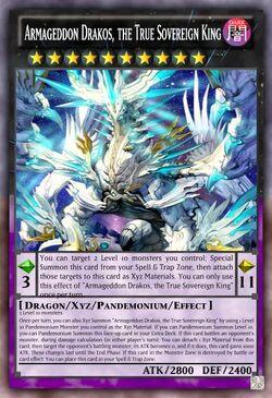 Armageddon Drakos the True Sovereign King