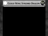 Cloud Wing Synchro Dragon