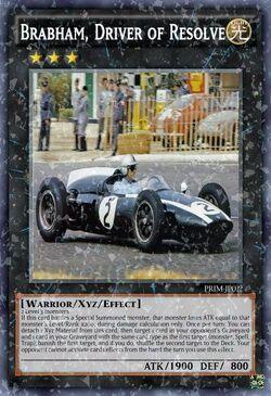 Brabham Driver of Resolve