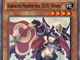 """Karakuri Maiden mdl 5525 """"Otome"""""""
