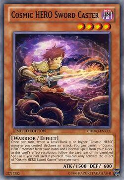 Cosmic HERO Sword Caster