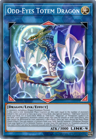 Odd-Eyes Totem Dragon