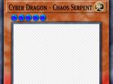 Cyber Dragon - Chaos Serpent
