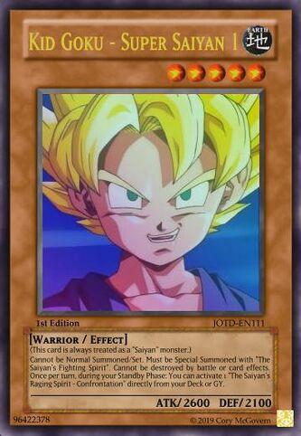 Kid Goku - Super Saiyan 1