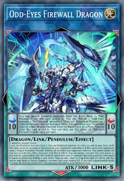 Odd-Eyes Firewall Dragon