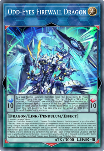 Odd-Eyes Firewall Dragon