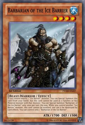 Barbarian of the Ice Barrier