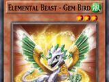 Elemental Beast - Gem Bird