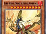 Fire King Prime Avatar Garunix
