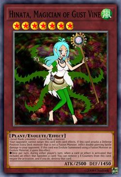 Hinata Magician of Gust Vine