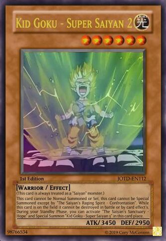Kid Goku - Super Saiyan 2