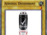 Aerosol Deodorant
