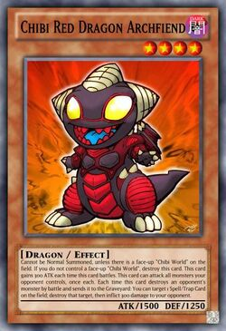 Chibi Red Dragon Archfiend