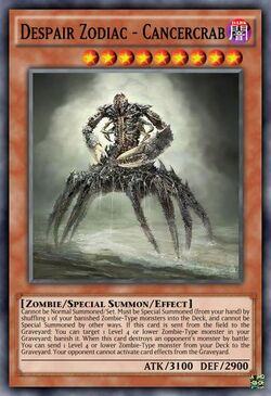 Despair Zodiac - Cancercrab
