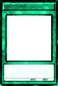 Soul Monster Card Frame