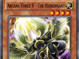 Arcana Force V - The Hierophant