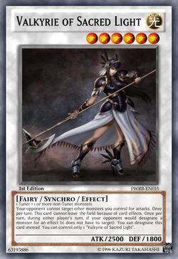 Valkyrie of Sacred Light Nerf