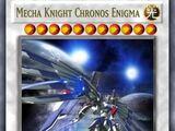 Mecha Knight Chronos Enigma