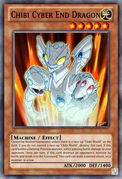 Chibi Cyber End Dragon