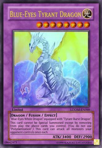 Blue-Eyes Tyrant Dragon