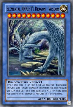 Elemental KNIGHTs Dragon - Wisdom